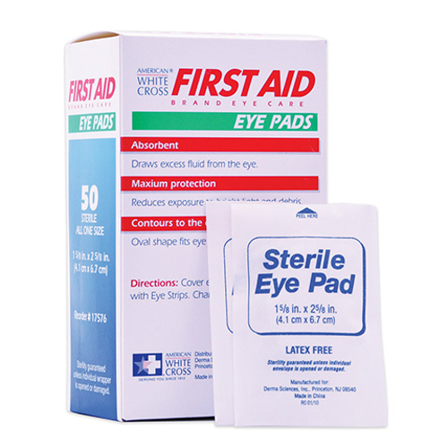 Picture of Eye Pads Sterile 1 5/8in X 2 5/8in Box/50