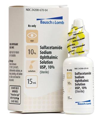 Picture of Sulfacetamide Sodium 10 Pct (Rx) 15 Ml