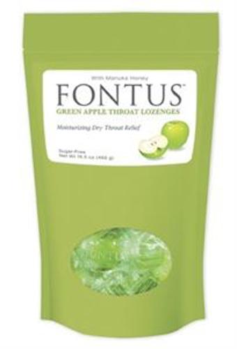 Picture of Fontus Green Apple Throat Lozenges – 150 ct Bag