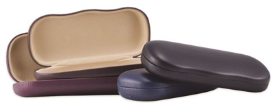 Picture of Adult Clam Shell Glasses Cases - Assorted Colors - 25/Pkg