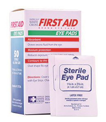 Picture of Eye Pads Sterile 2 1/8in X 2 5/8in Box/50