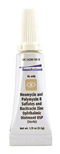 Picture of Polymyxin B-Neomycin-Bacitracin(Rx) 3. 5 gm