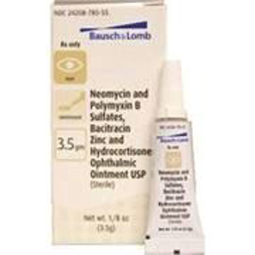 Picture of Neo\Poly\Baci\Hydrocort Ophth Oint 3. 5 gm