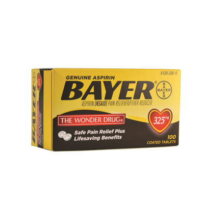 Picture of Bayer Aspirin 325 mg. Tablets - Bottle/100 7 In Stock Exp 6/30/2016 Lot# 800505-Naa2Kdd