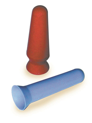Picture of Prosthetic Suction Cup -Red/Orange Rubber - Ea