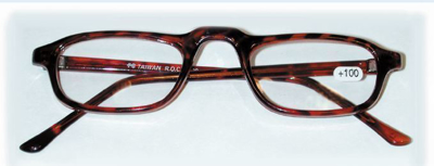 Picture of Half Eye Reading Glasses - Tortoise