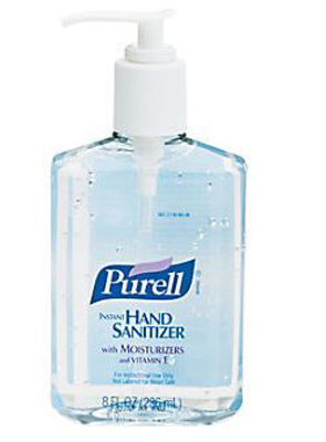 Picture of Purell Clear Hand Sanitizer 8 oz.