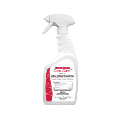Picture of Opti-Cide Disinfectant - Spray Bottle - 24 oz