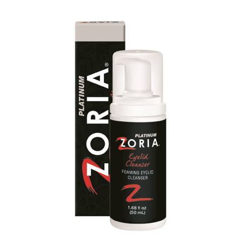 Picture of Zoria Platinum Foaming Eyelid Cleanser - 50 mL