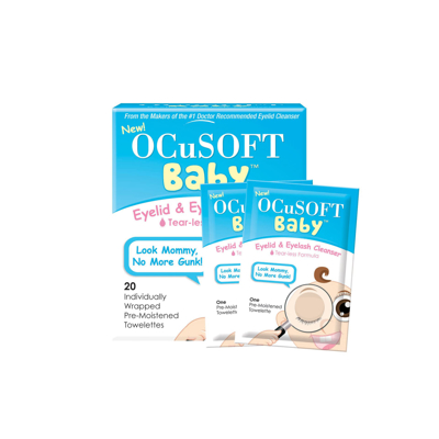 Picture of OCuSOFT Baby Eyelid And Eyelash Cleanser - 20/Box