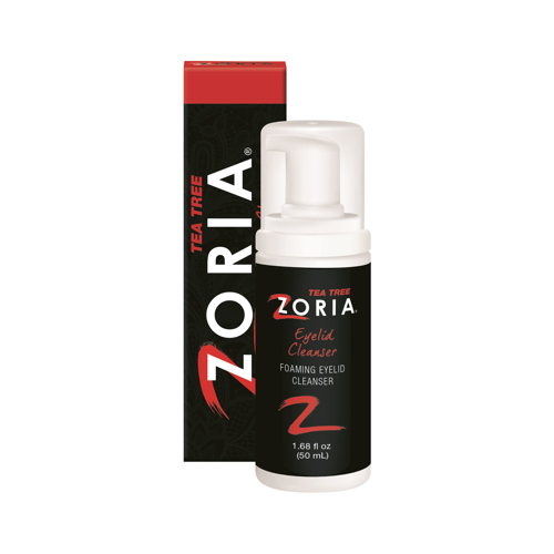 Picture of Zoria Tea Tree Foaming Eyelid Cleanser - 50 mL