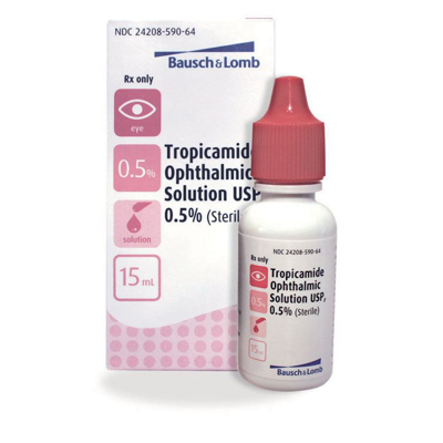 Picture of Tropicamide . 5 Pct (Rx) 15 mL