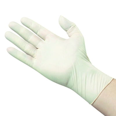 Picture of Latex Examination Gloves Powder Free (Large) - Box/100