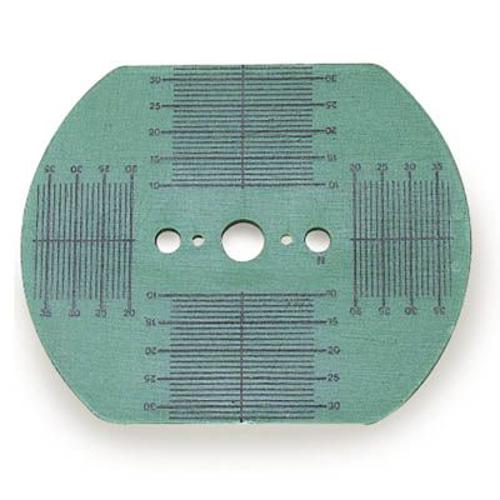 Picture of Plastic Vigor Green Pattern Blanks - 80 X 65 mm - 50/Bag