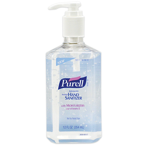 Picture of Purell Clear Hand Sanitizer - 12 oz