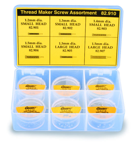 Picture of Self-Tapping Screw Set - Stainless Threadmaker - 300 Screws - 1 Set