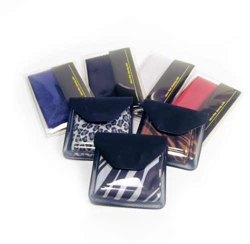 Picture of Soft Cloth Lens Cleaner Display - Assorted Colors - 24/Display