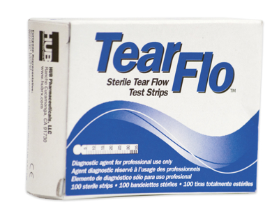 Picture of Tear Flo Tear Test Strips-100/Box