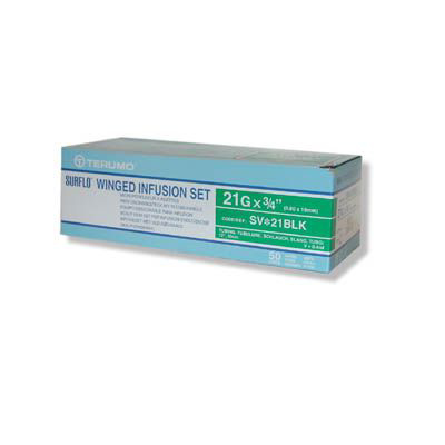 Picture of Winged Infusion Set 21Gx3/4 W/12 Inch Tubing Box/50