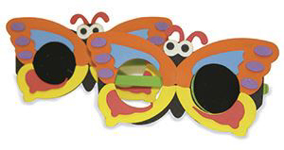 Picture of Occluder Glasses - Butterfly - 1 Pair