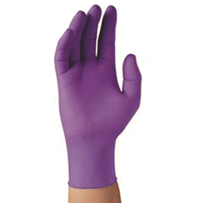 Picture of Nitrile Examination Gloves-Powder Free-Purple-(Large) Box/100