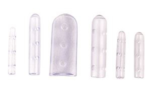 Picture of Instrument Tip Covers Vented Clear Assortment Pkg/30