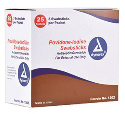 Picture of Betadine- Swabstick Box/50