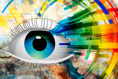 Picture of Abstract Eye Reminder Postcard 4X6 50Ct