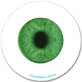 Picture of Sticker Glow In The Dark Eyes