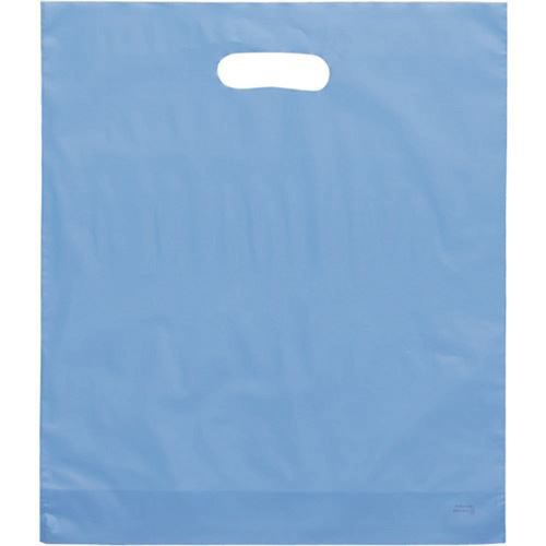 """Picture of Frosty Merchandise Bags-Blue 9""""X12"""" 50/Box"""