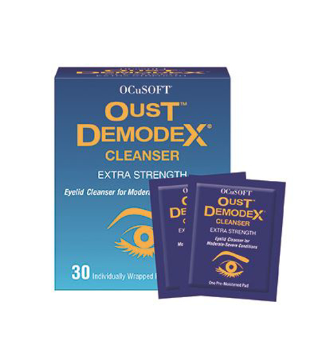Picture of Oust Demodex Cleanser Pre-Moistened Pads 30 ct
