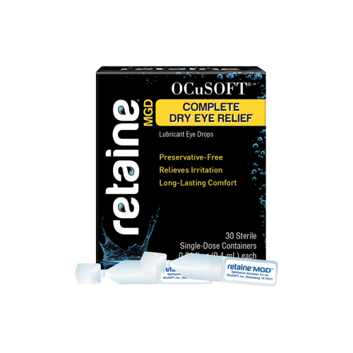 Picture of RETAINE MGD Ophthalmic Emulsion Eye Drops - 30 Single-Dose Vials