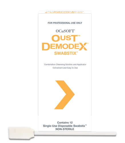 Picture of Oust Demodex Swabstix - 12/Box